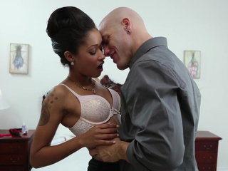 Tattooed multiracial sex
