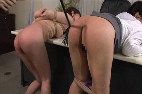 Japanese bent over sex